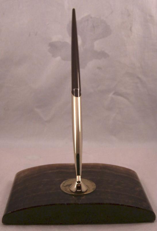 Sheaffer Vintage Brown Desk Set--New Ball Pen-
