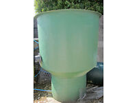 4 Foot Diameter Heavy Duty Primary vortex for filtering waste for the bottom drain of fish/koi pond
