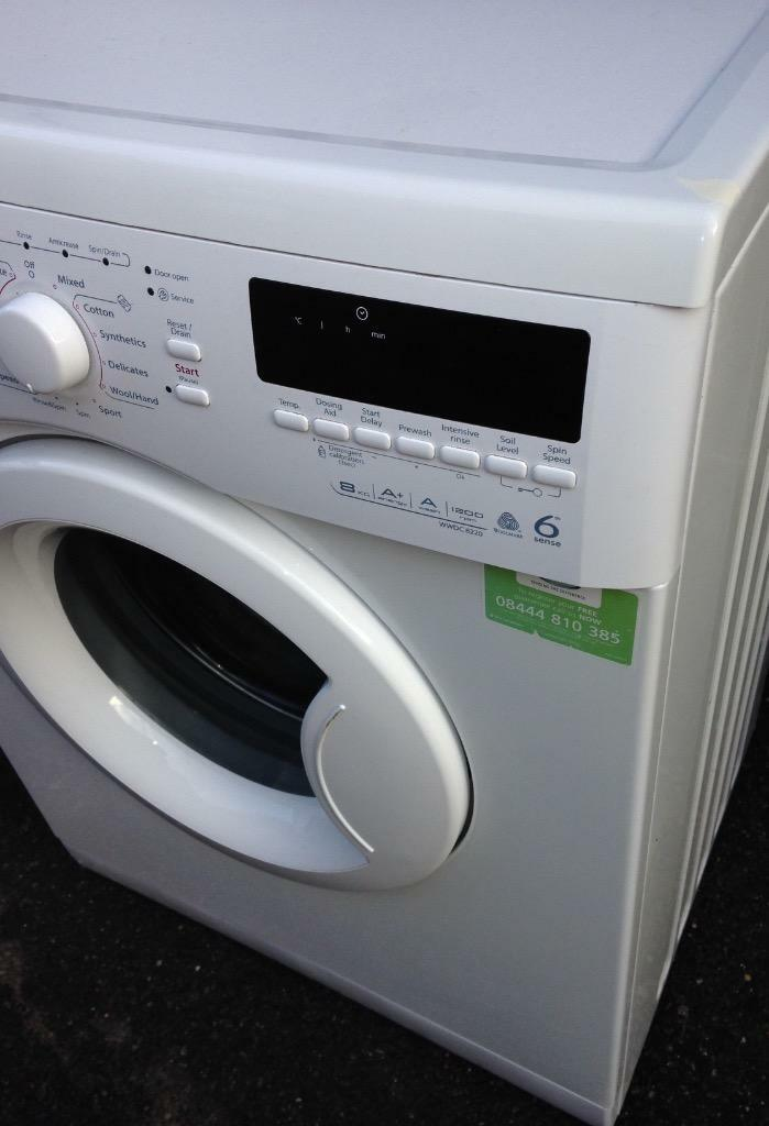 whirlpool 8kg washing machine in walthamstow london. Black Bedroom Furniture Sets. Home Design Ideas