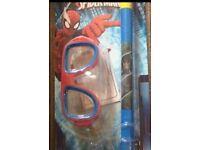 Spider-Man Mask & Snorkel set