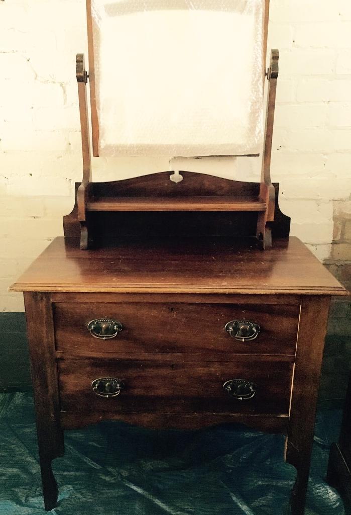 Dresser table.