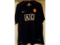 Manchester United Football Shirt _Size XXL _by Nike. 2007-2008
