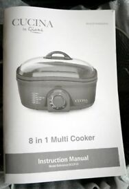 Cucina by Giani 8 in 1 Multi Cooker