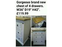 Brand new chest of drawers