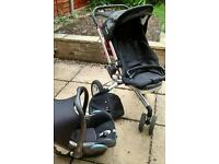 Quinny Buzz Pushchair with Car Seat