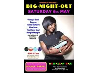 SATURDAY 6th MAY - 60s 70s SOUL / REGGAE / MOTOWN / SKA with DOUBLE BARREL - City Centre.