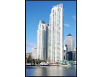 2 bed flat in canary warf