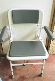 Folding Shower Seat with Back and Arms