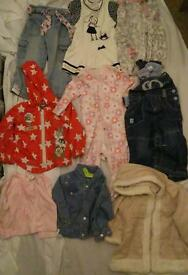 50 baby girls clothes 6-9m 9-12m