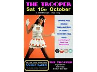 SATURDAY 15th OCTOBER - 60s 70s SOUL / REGGAE / MOTOWN / SKA with DOUBLE BARREL - ST GEORGE
