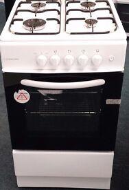 Cookworks 50 cm wide gas cooker