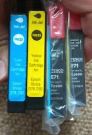 Epson Ink E71, D78, D92 (Sealed/New)
