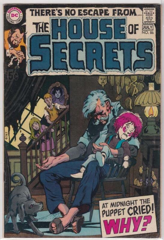 House of Secrets #86.  DC Comics (1970)