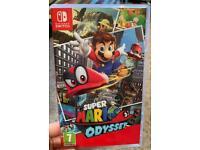 Mario Odyssey Nintendo switch game