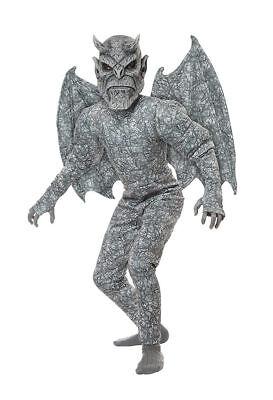 Grausige Gargoyle Overall Kind Jungen Halloween Kostüm 00633 (Grausige Kostüme)