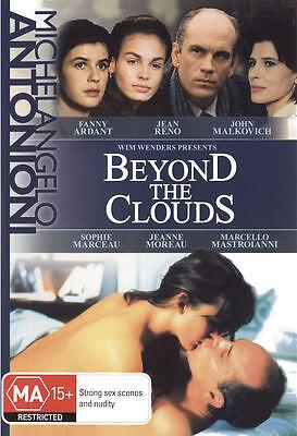 Dvd Beyond The Clouds  1994   John Malkovich  Sophie Marceau  Fanny Ardant