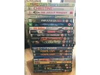 21 x various DVDs