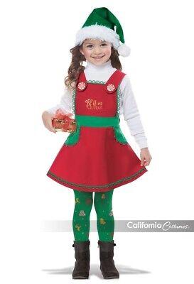 California Kostüme Elf in Charge Weihnachten Kleinkinder Halloween Kostüm (Elf Halloween Kostüm Kleinkind)