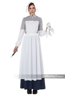 War Nurse Costume (California Costumes War Nurse Historic Adult Women's Halloween Costume)