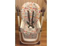 Red kite high chair - collection only