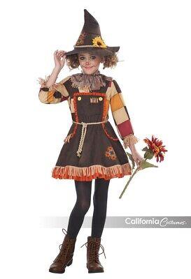 California Costumes Patchwork Scarecrow Autumn Girls Halloween Costume 00375](Halloween Scarecrow Costumes)
