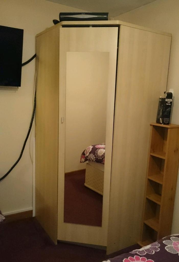 Large corner wardrobe for sale | in Perranporth, Cornwall ...