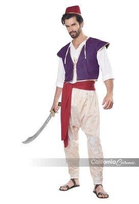 California Costumes Arabian Folk Hero Aladdin Mens Halloween Costume - Mens Arabian Costumes