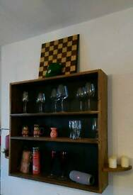 rack- bar- wall unit
