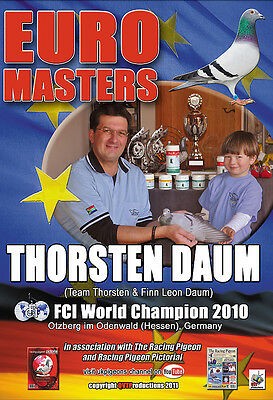 THORSTEN DAUM FCI WORLD CHAMPION racing pigeons