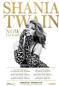 Shania Twain Now Tour - Hot Ticket Package Tickets - Birmingham - 24/09/18