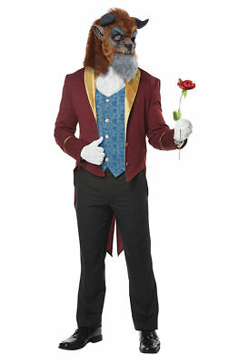 California Costumes Storybook Beast Beauty Adult Mens Halloween Costume 01463