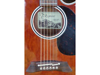 Takamine EF261SAN Electro Acoustic Pro Guitar, Made in Japan
