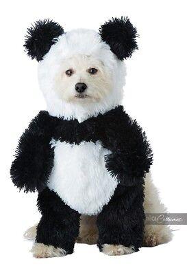 California Costumes Panda Bear Pooch Plush Pets Dogs Halloween Costume PET20163 - Panda Bear Halloween Costume