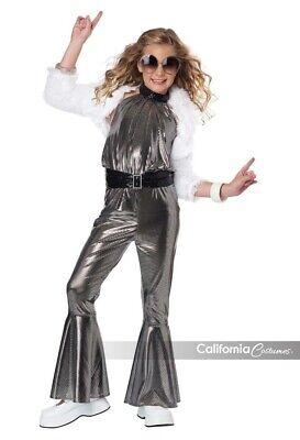 California Kostüme Dancing Queen Disco Diva Kinder Halloween - Kinder Diva Kostüme