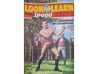 Vintage 1970's 'Look and Learn' magazine Edition Number 830