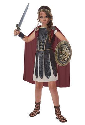 earless Gladiator Römisch Kinder Mädchen Halloween 00576 (Gladiator Mädchen Halloween-kostüm)