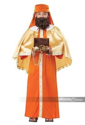 California Kostüme Gaspar Weiser Mann Three Kings Kinder Halloween Kostüm - Gaspar Kind Kostüm