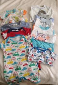 3-6 months baby boy outfit bundle