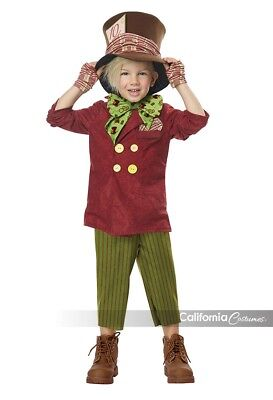 Mad Hatter Costume Toddler (California Costumes Lil' Mad Hatter Alice Toddler Boys Halloween Costume)