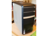 Packard Bell DV100 Tower PC - Windows 7 installed (disks included)