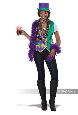 Womens Halloween Costumes (California Costumes Mardi Gras Vest Kit Adult Womens Halloween Costume)