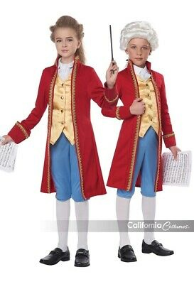California Costumes Classical Composer Mozart Child Halloween Costume 00366 - Classic Kid Halloween Costumes