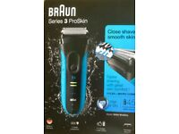 Braun Wet or Dry shaver. Series 3 ProSkin. Unwanted gift