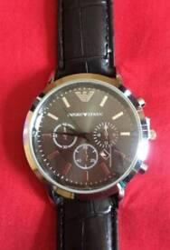 Emporio Armani Watch Black