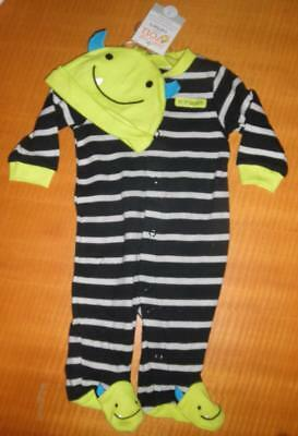 New just for you My 1st Halloween Sleeper & Hat Monster 3 Months Baby Costume](Saints Costumes For Halloween)