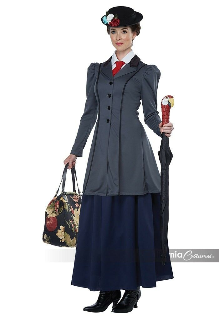 English Nanny - Adult Mary Poppins Costume - California Costumes