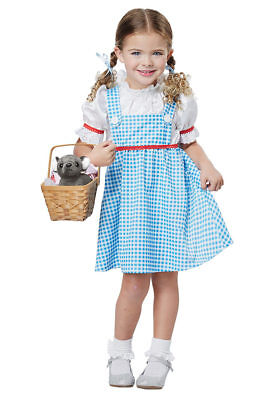 California Costumes Dorothy Wizard Of Oz Girls Toddler Halloween Costume 00181 (Toddler Dorothy Halloween Costume)
