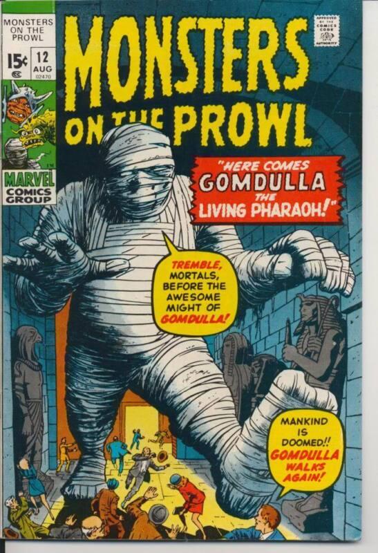 Monsters on the Prowl #12 (1971) Near Mint Minus NM- (9.2) Marvel Comics