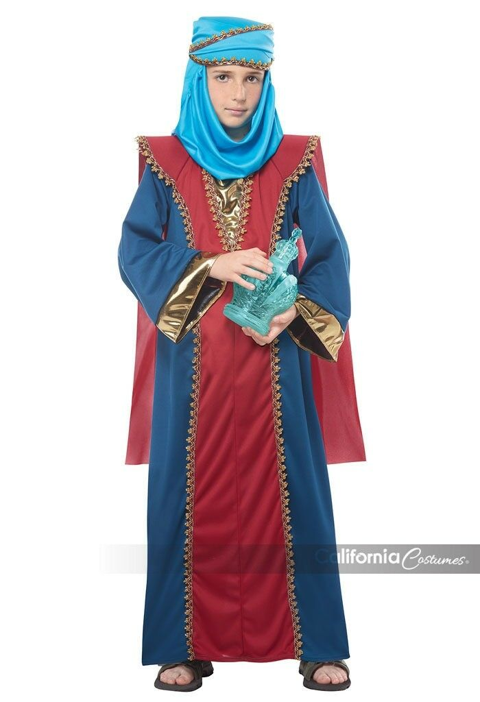 California Costumes Balthasar Wise Man Three Kings Child Halloween Costume 00650