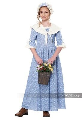 California Costumes Colonial Village Girl Halloween Costume Childrens 00346 - Costume Village